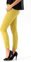 Forever 21 Zippered Denim Ankle Skinnies