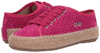 Emu Agonis Perf (Little Kid/Big Kid) (Fuchsia) Girl's Shoes