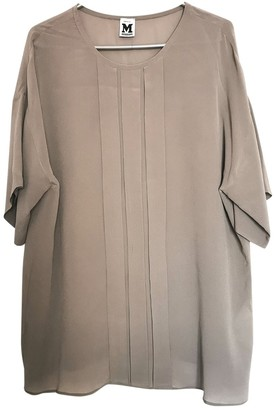 M Missoni Grey Silk Top for Women Vintage