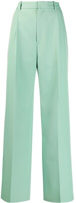 Plan C Tailored Wide-Leg Trousers