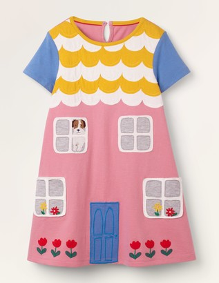 House Applique Dress