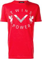 DSQUARED2 Twins Power T-shirt - men - Cotton - L