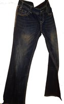Rock N Roll Cowgirl Rock and Roll cowgirl Boot cut jean with embroidered pocket and bling 31 waist 32 leg