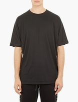 Helmut Lang Black Oversized Cotton T-shirt