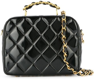 Chanel Pre-Owned 1994-1996 quilted boxy 2way bag