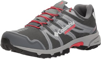 Montrail Columbia Women's Mountain Masochist IV Outdry Trail Running Shoe Graphite red Camellia 10.5 B US