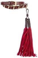 Etro Chain-Link Tassel Belt