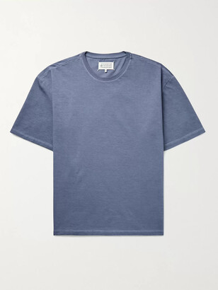 Maison Margiela Oversized Garment-Dyed Cotton-Jersey T-Shirt