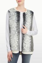 NYDJ Faux Fur Vest