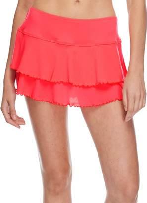 Body Glove Junior's Smoothies Lambada Mesh Skirt Cover up