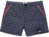 Fat Face Girls' Alice Star Chino Shorts, Navy