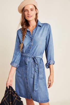 Cloth & Stone Celia Chambray Shirtdress