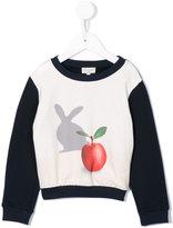 Paul Smith apple and rabbit print sweatshirt