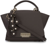 Zac Posen front flap backpack - women - Calf Leather/metal - One Size