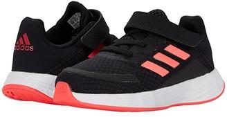 Adidas Originals Kids Duramo SL (Infant/Toddler) (Glory Grey/Silver Metallic/Light Flash Orange) Girls Shoes
