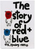 Olympia Le-Tan 'The Story of Red and Blue' clutch