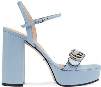 Gucci Women's platform sandal with DoubleG