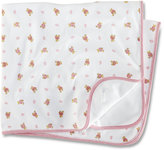 Ralph Lauren Blanket, Baby Girls Reversible Bear Printed Blanket