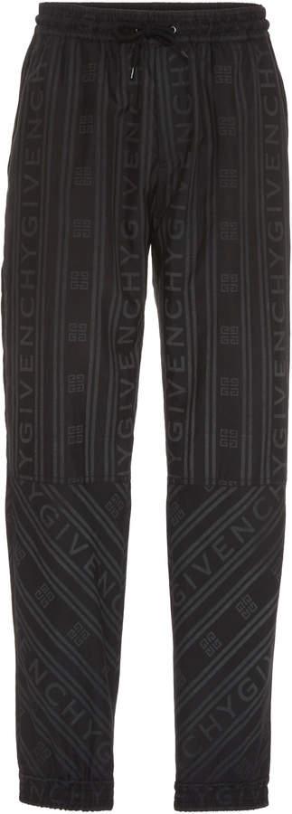 Givenchy Windbreaker Logo Shell Track Pants
