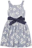 Polo Ralph Lauren Floral Fit Flare Dress Girl's Dress