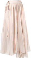 Forte Forte gathered midi skirt