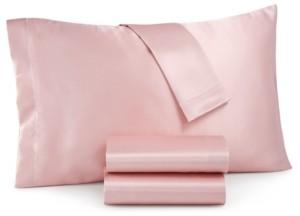 Sanders Royal Silky Satin 3-Pc. Twin Sheet Set Bedding