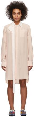 Loewe Pink Oversized Strap Shirt