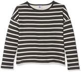 Petit Bateau Girl's Mariniere Cit/Co Long Sleeve Top,(Manufacturer Size:10A 10Ans)