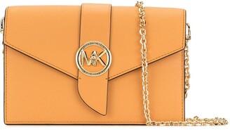MICHAEL Michael Kors Chain Strap Logo Plaque Crossbody Bag