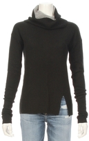 Autumn Cashmere Two Tone Turtle Neck Sweater