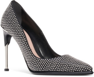 Alexander McQueen Studded Pointed Toe Pump