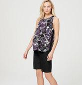 "LOFT Petite Maternity Walking Shorts with 9"" Inseam"