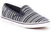 Lauren Ralph Lauren Janis Canvas Stripe Slip-On Sneakers