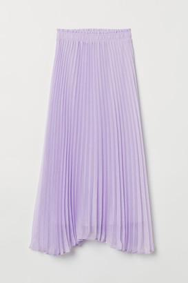 H&M Pleated Skirt - Purple