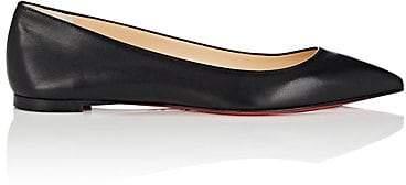 Christian Louboutin Women's Ballalla Leather Flats - Black