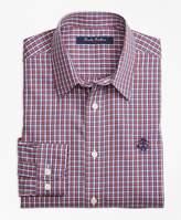 Brooks Brothers Non-Iron Mini Check Sport Shirt