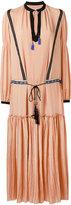 Etro embroidered waist boho dress - women - Silk - 42