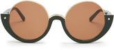 Marni Crop round-frame sunglasses
