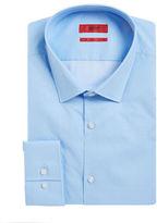 HUGO Diamond Printed Cotton Dress Shirt