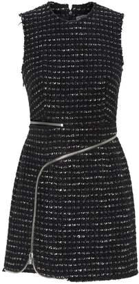 Alexander Wang Zip Detail Tweed Dress