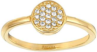 Ariana Rabbani 14K 0.10 Ct. Tw. Diamond Disc Ring