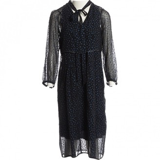 Coach Black Silk Dresses