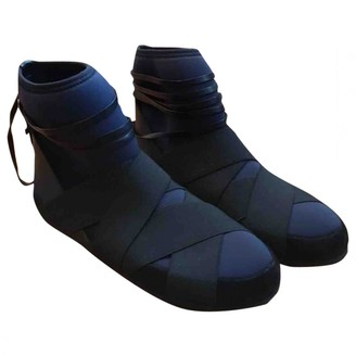 Isabel Marant Blue Rubber Ankle boots