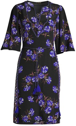 Kobi Halperin Daniella Floral Crepe Dress