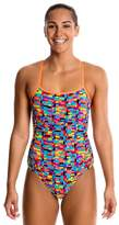 Funkita Stacked Up Single Strap One Piece