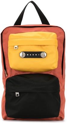 Marni Colour-Block Tote Bag