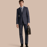Burberry Modern Fit Wool Silk Blend Half-canvas Suit