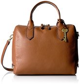 Fossil Fiona Satchel Brown