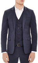 Sandro Notch Birdseye Slim Fit Sport Coat