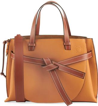 Loewe Gate Small Leather Top-Handle Tote Bag